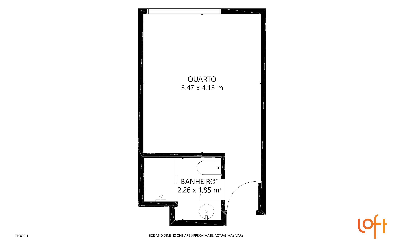 Rua Vergueiro 2740, Vila Mariana, São Paulo 04102-001, 1 Dormitório Dormitórios, ,1 BanheiroBanheiros,Studio,Vendas,Comfort Nova Paulista,Rua Vergueiro,18,1074